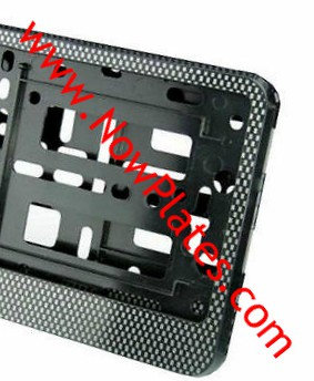 Carbon Fibre Number Plate Frame (s)