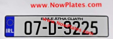 1 of IRL Flag NCT Pressed Plate