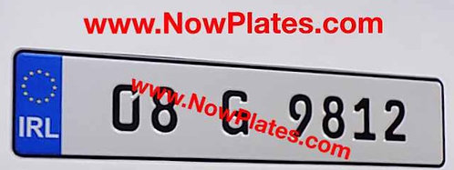 1 of German FE Pressed Oblong Pressed Plate with medium size No's (41)
