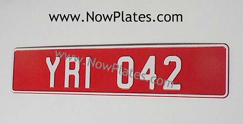 1 Only Old Style Trade Plate Pressed (TD1)