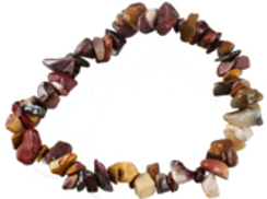 Jaspe mookaïte, bracelet