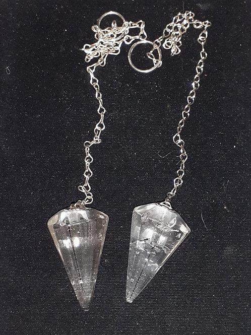 Cristal de Roche, pendule hexagonal