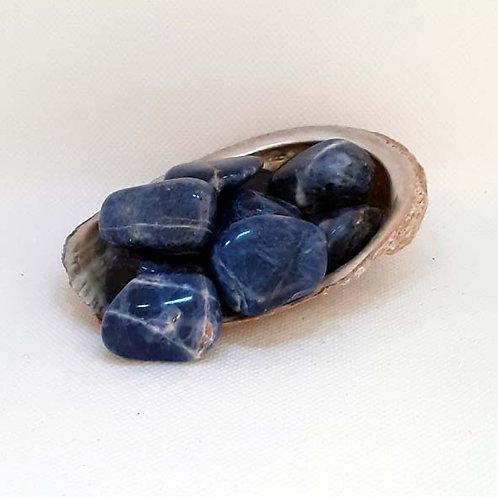 Sodalite, pierre roulée