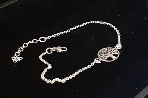 Bracelet Arbre de Vie, en argent 925