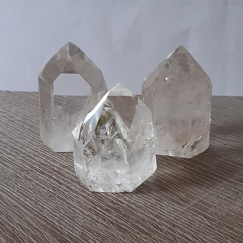 Cristal de roche, prisme (pointe de cristal)