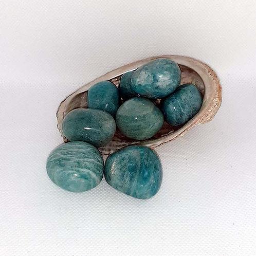 Amazonite en pierre roulée