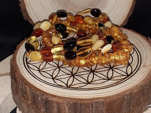 Ambre, bracelet adulte