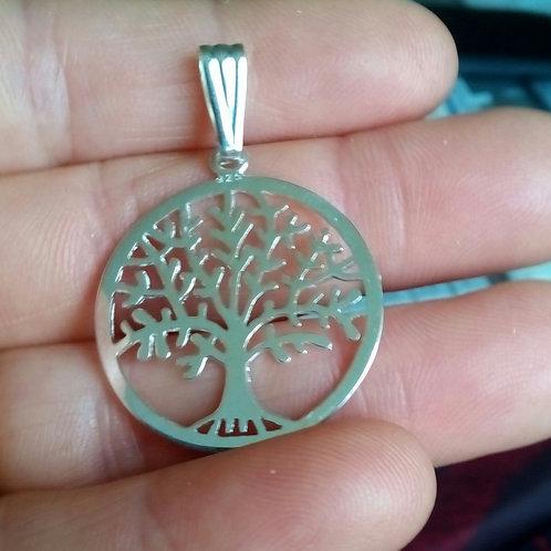 Pendentif arbre de Vie en argent 925