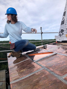 Master copper artist intern