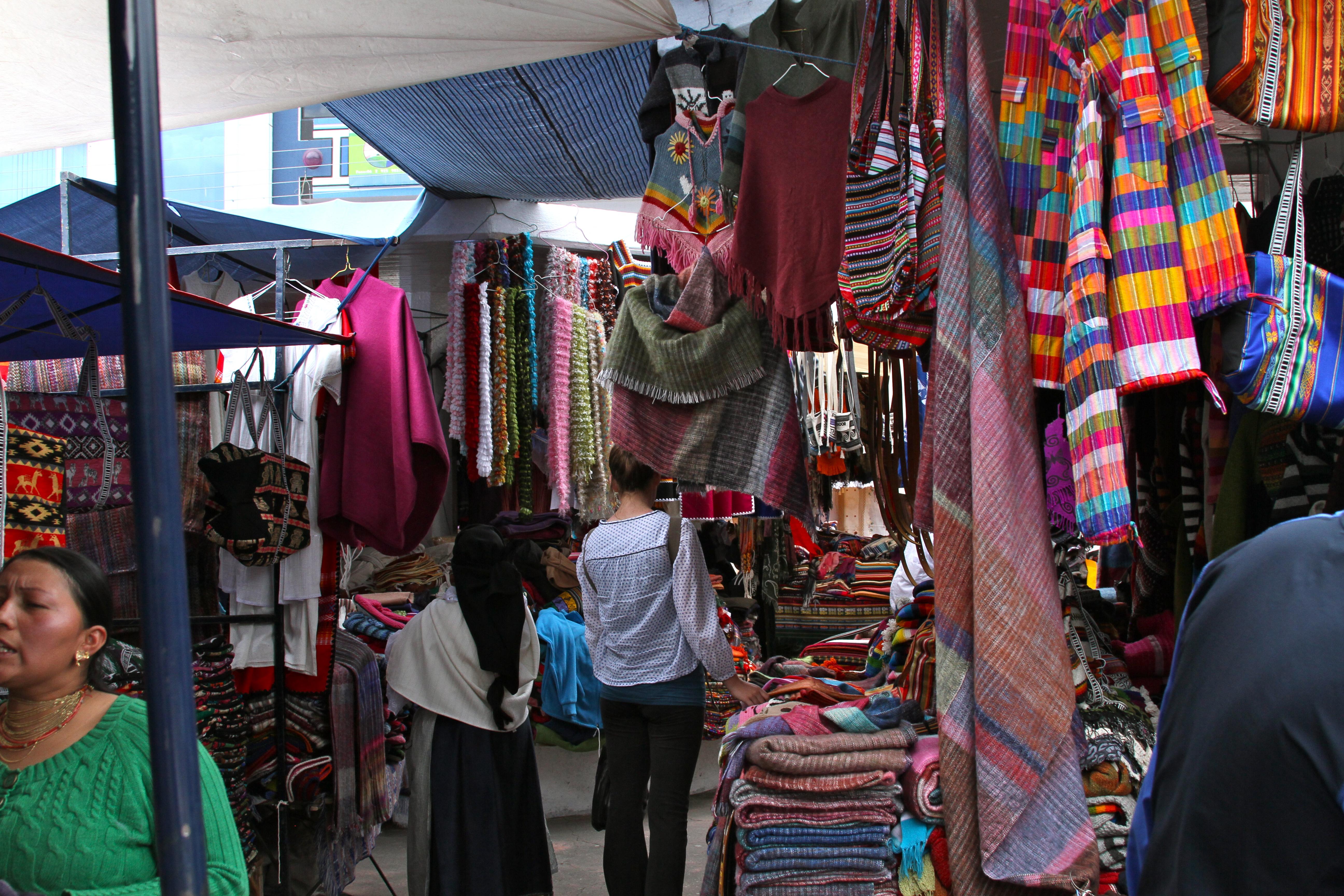 Otovalo market place