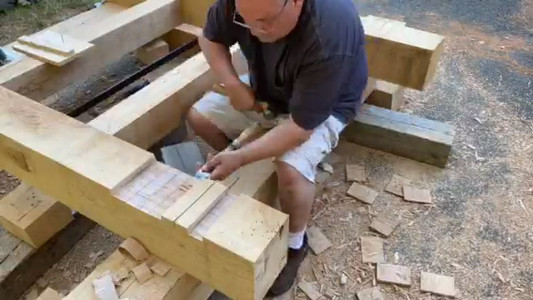 Making Bell Cradle