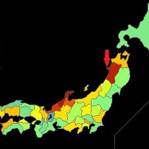 都道府県別学力と大学進学率