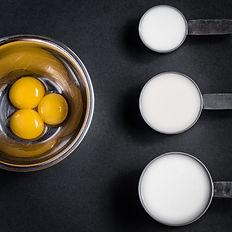 photo culinaire, recette déconstruite