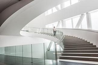 musée, grand escalier