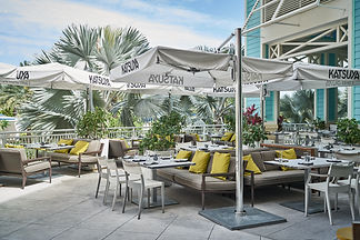 terrasse-bar, Bahamas