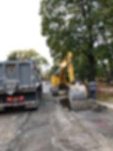 Storm Sewer Work on Lavergne