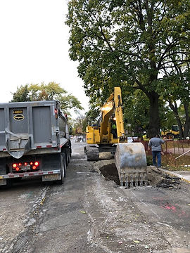 Storm Sewer Work on Lavergne