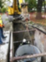 Manhole Installtion on Lavergne