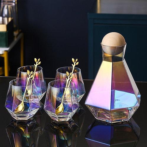 Luxury Diamond Glasses or Water Decanter