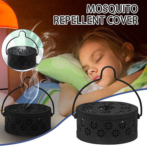 Summer Wrought Iron Fireproof Mosquito Smoker with Lid
