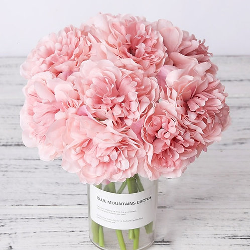 High Quality Faux Peony Bouquet