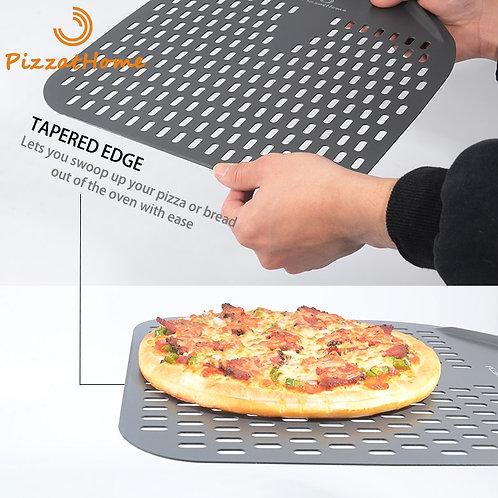 Aluminum Perforated Pizza Shovel