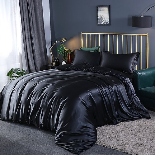 Luxury Satin Duvet Cover Set