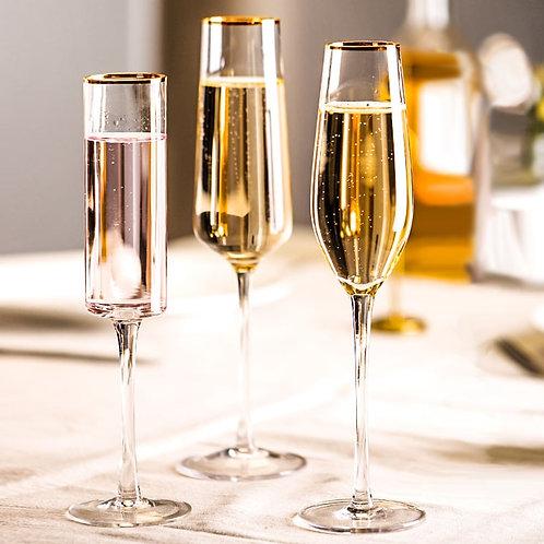 Handblown Champagne & Cocktail Glasses