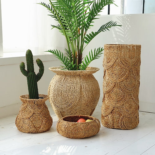 Natural Planters or Storage Baskets