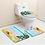 Thumbnail: 3 Pcs Shells Anti Slip Bathroom Set