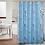Thumbnail: Modern Shower Curtain Geometric with 12pcs Plastic Hooks