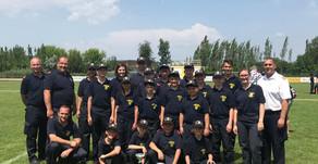 Bezirksfeuerwehrjugendleistungsbewerb in Schwadorf. 🚒 🏆