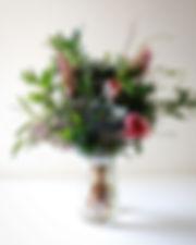 ドライになる季節の草花頒布会3月__春のピンクのブーケです。__明日発送です。_