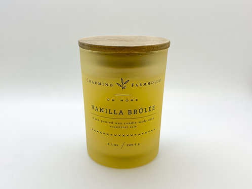 DW Home - Vanilla Brulee Candle 8.1 oz.