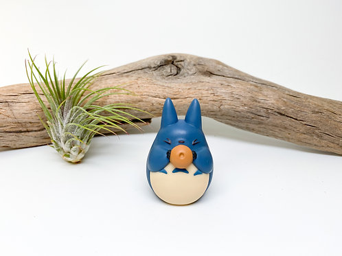 Official Blue Totoro Figurine - Import from Tokyo, Japan