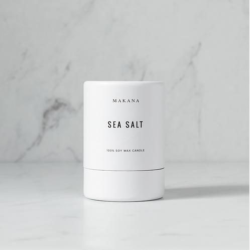 Sea Salt - Soy Candle by MAKANA 3 oz - made in USA