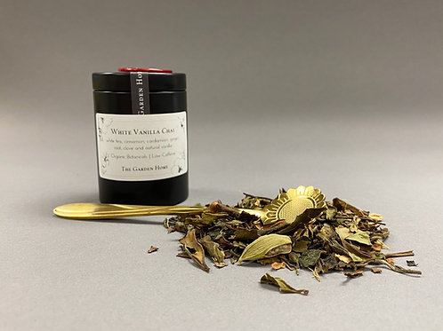Organic White Tea - White Vanilla Chai - Low Caffeine