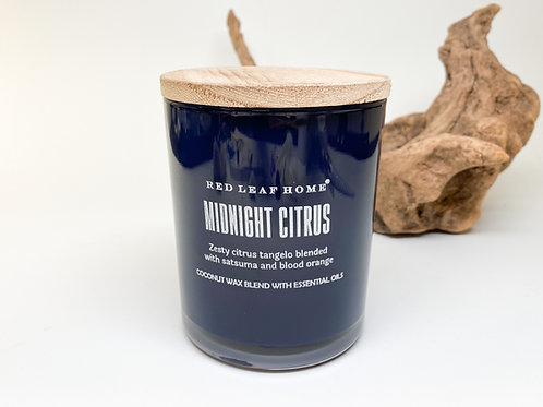 Red Leaf Home - Midnight Citrus Wax Blend Candle 11 oz
