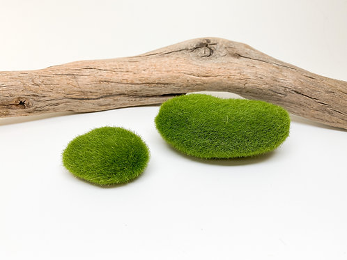 Faux Moss Stone (small or large)