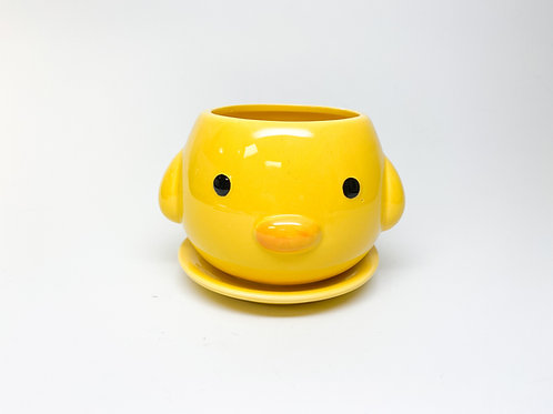 Baby Chick Planter Pot with Drainage Hole - Garden, Gardening