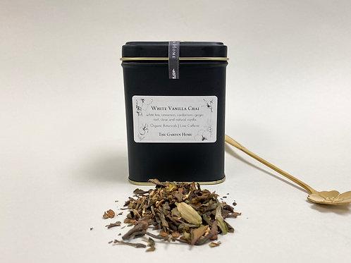Large White Vanilla Chai - Organic White Tea - Low Caffeine