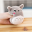 Thumbnail: Totoro Anime Set of 8 Plushies in Decorative Zip-Up Pillow