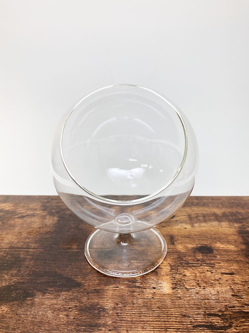 Standing Globe Terrarium Glass with Large Opening