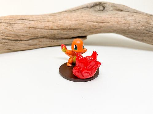 Pokemon Charmander Flamethrower Figurine