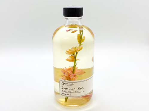 Provence Beauty - Jasmine and Rose - Bath and Shower Oil