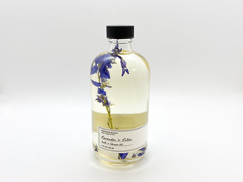 Provence Beauty - Lavender and Lilac - Bath and Shower Oil (8 Fl. Oz.)