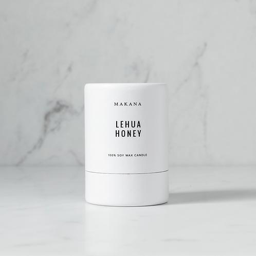 Lehua Honey - Soy Candle by MAKANA 3 oz - made in USA