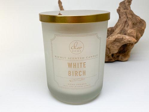 DW Home - Doublewick White Birch Wax Blend Candle 15 oz