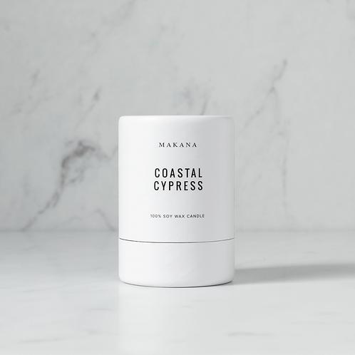 Coastal Cypress - Soy Candle by MAKANA 3 oz - made in USA