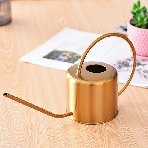 Brass Style Stainless Steel Watering Can
